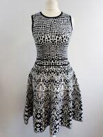 karen millen black and white sleeveless dress size uk 6 BRAND NEW BOX82 06 i