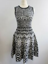 karen millen black and white sleeveless dress size uk 6 BRAND NEW BOX8206 i
