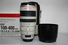 Canon EF 100-400 mm F/4.5-5.6 L IS USM Objektiv 1 Jahr Gewährleistung