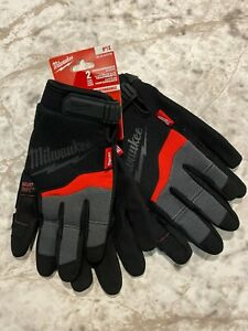 "Milwaukee 9""/Large 2 Pairs Performance Gloves #48-22-8727W"