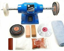 Jewellery Bench Polishing Machine / Polisher with Gold & Silver Polishing Kit