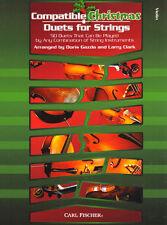 Compatible Christmas Duets for Strings Violin Violine Geige Noten