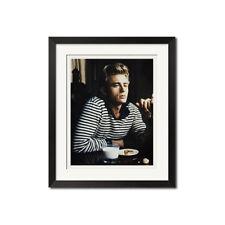James Dean Coco Chanel Iconic Breton Stripe Urban Poster Print