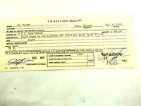 Lou DuPont (Renown Ventriloquist) B of A Collection Receipt Jan 4,1966 #2