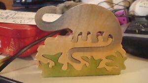 ANCIENT DINOSAUR  Childs Wooden Puzzle