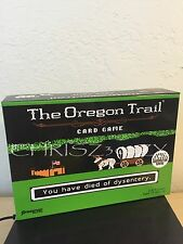 The Oregon Trail Card Game - Based on PC Game NEW Pressman Target Exclusive RARE