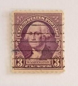 George Washington Purple 3 Cent Stamp RARE Original