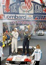 Michele Mouton Audi Quattro Lombard RAC Rally 1982 Photograph