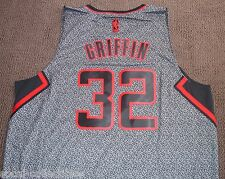 Blake Griffin Clippers Grey Static Adidas Swingman Jersey Mens XL Rev. 30 New