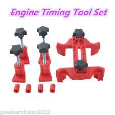 Portable 5 Pcs Car Dual Cam Camshaft Lock Holder Engine Timing Gear Locking Tool