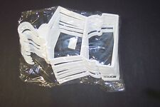 "12 White Plastic Outfit Hangers(1 Dozen) made for 18"" American Girl Doll Clothes"