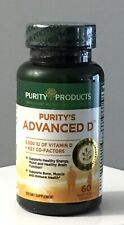 Purity Products Advanced Vitamin D Formula 60 Veg Cap Exp 04/22 Sealed