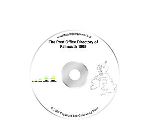The Post Office Directory of Falmouth 1909