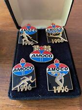 AMOCO 1996 Centennial Olympic Games Pin Set (5)