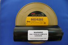 KODAK MOTION PICTURE 500T 35MM x100ft BULK VISION 3 COLOUR from old short ends