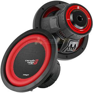 "2 Pack 10"" Dual 4 Ohm Subwoofer 1100 Watts Car Audio Sub DVC Cerwin Vega V104DV2"