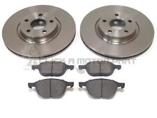 FORD FOCUS MK2 1.6 16V ZETEC 2004-2010 FRONT 2 BRAKE DISCS AND PADS SET NEW