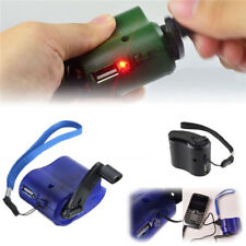 Cell Phone Emergency Charger USB Crank Hand Manual Dynamo For MP4 Mobile Hot