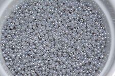 Miyuki Seed Beads 8/0 - Silver Gray Ceylon