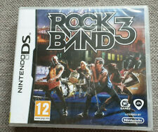 Nintendo DS Game Rock Band 3 Brand New Sealed