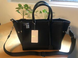 Zadig and Voltaire Black Leather Bag