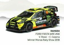 IXO 1:43 RAM694 2018 Ford Fiesta WRC Rallye Monza (V. Rossi) #46 - NEU!