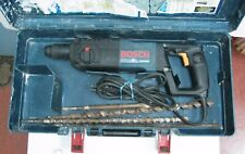 BOSCH 11224VSR BULLDOG SDS Hammer Drill w/ Case and Bits Free Ship