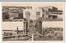 Sweden; Stockholm, Multiview RP PPC, Unposted, City Hall, Grand Hotel, Museum
