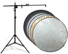 "NEW~ 1Pcs Duplex 110cm 43"" 2-in-1 Collapsible disc Reflector set for Photography"