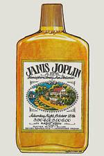 Janis Joplin at  San Antonio Concert Poster 1969  2nd Printing