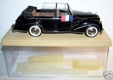 RARE KIT RESINE MA COLLECTION TALBOT LAGO RECORD CABRIOLET PRESIDENTIELLE 1950