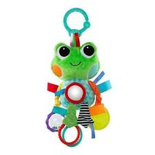 Brand New ~ Bright Starts Playful Pals Green Frog Hang Down Infant Activity Toy