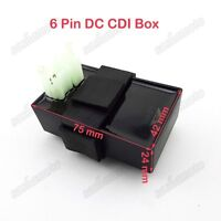 6 Pin DC CDI Ignition Box For 50cc-250cc Chinese ATV Go Kart Buggy Scooter Moped