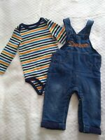 Cat And Jack Baby Boy Infant 2 Piece Outfit  Size 6-9 months.