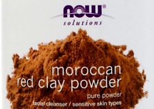 60g now foods solutions moroccan red clay powder facial cleanser ***(in bag)***