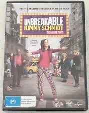 UNBREAKABLE KIMMY SCHMIDT Season Two DVD Region 4 PAL NEW