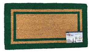Zerbino tappeto in COCCO raschia fango resistente Varie misure