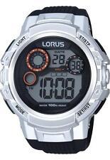 Men's Sport Silicone/Rubber Strap Round Wristwatches