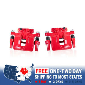 Rear Red Calipers For 2013 2014 2015 2016 2017 Honda Accord EX EX-L LX LX-S