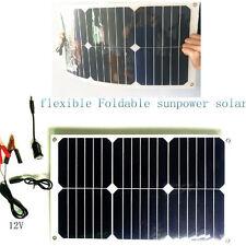 Solar zell  Ladegerät hohe Effizienz18w USB-Kabel 5v&12V geräte  für powerbank