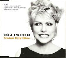 Deborah Harry BLONDIE & OPM Union City Blues w/ MIXES & LIVE & EDIT UK CD Single