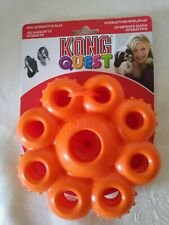 KONG DOG  QUEST  CLEANS TEETH . FUN AND INTERACTIVE PLAY NEW