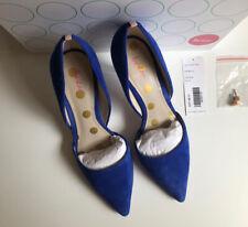 Boden Tribunal Zapatos 37 azul brillante en muy buena condición