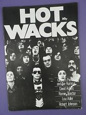 Hot Wacks Magazine #17 - GRAHAM PARKER, DAVID ACKLES, RONNIE SPECTOR etc.