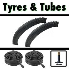 2x Tyre 24 x 2.10 MTB Mountain Bike Bicycle & SCH Tubes