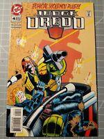 Judge Dredd #4 Ethical Violence Rules! November 1994, DC Comics