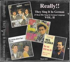 "RARO CD GERMANY BRANI IN TEDESCO "" REALLY !! THEY SING IT IN GERMAN VOL. 2 """
