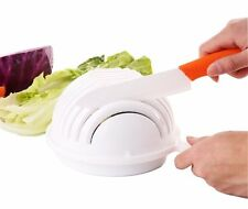 Salad Maker Bowl Slicers Vegetable Washer Server Strainer Quick Salad Chopper