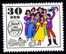 1455 postfrisch DDR Briefmarke Stamp East Germany GDR Year Jahrgang 1969