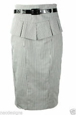 Unbranded Cotton Formal Plus Size Skirts for Women